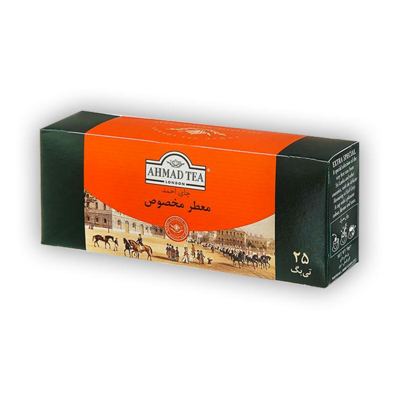 چای کیسه ای احمد معطر مخصوص 25 عددی