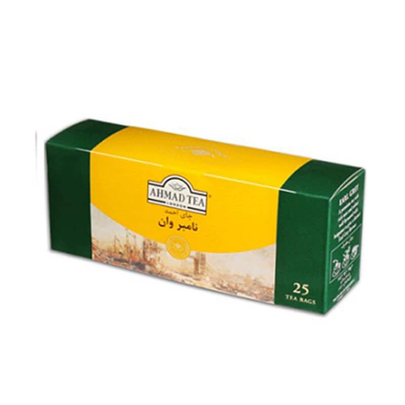 خرید چای کیسه ای احمد نامبر وان 25 عددی در ترکیه